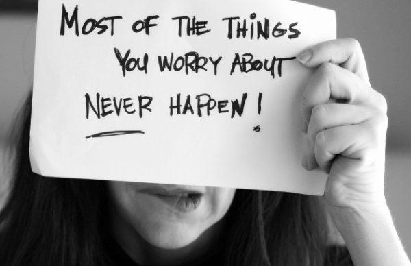 dejar de preocuparse